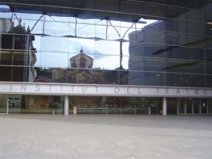 Fachada Institut del Teatre