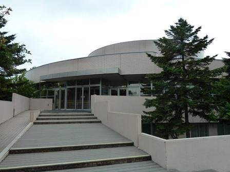 Exterior del Teatro Yamabiko-Za de Sapporo