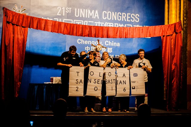 <!--:en-->San Sebastián-Tolosa elected for the next Congress of UNIMA 2016<!--:-->