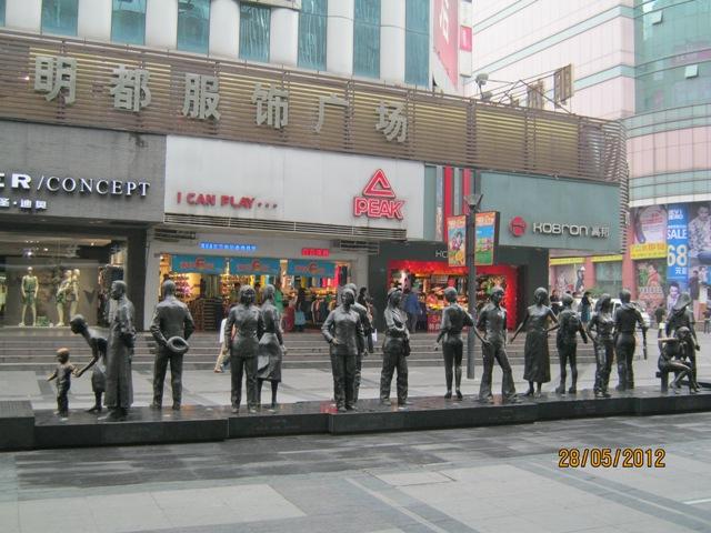 Katrina in Chengdu