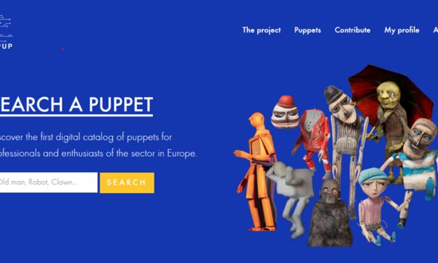 Projet INEUPUP – Innovative European Puppettry. Lancement du catalogue numérique et collaboratif de marionnettes INEUPUP