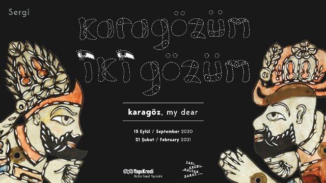Exhibition in Istanbul: Karagözüm Iki Gözüm (Karagöz, My Dear), by Ömer Can Kulakcı
